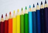 Rainbow χρωματιστά μολύβια — Φωτογραφία Αρχείου