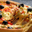 italiensk pizza — Stockfoto #6160885