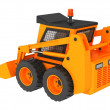 Stock Photo: Skid steer