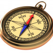 Stock Photo: Vintage compass
