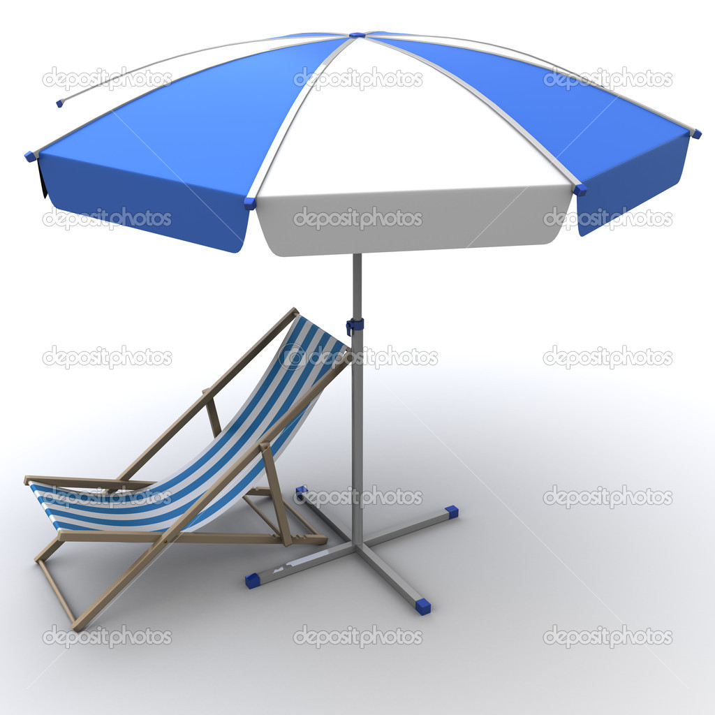 Deck Chair Stock Photo Astronom 5698948