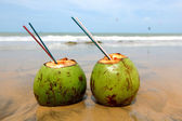 Coconut cocktail — Stock Photo