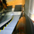 Blurred escalator — Stock Photo #5939723