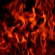 Fire wallpaper - Stock Photo