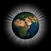 3d dünya — Stok fotoğraf