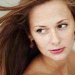 Woman studio portrait — Stock Photo #6649745