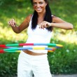 Hula hoop - Stock Photo