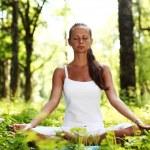 Lotus yoga sunrise — Stock Photo #6650183