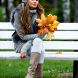 Autumn woman — Stock Photo #6650819