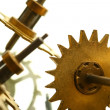 Mechanical clock gear — Stock Photo #6651267