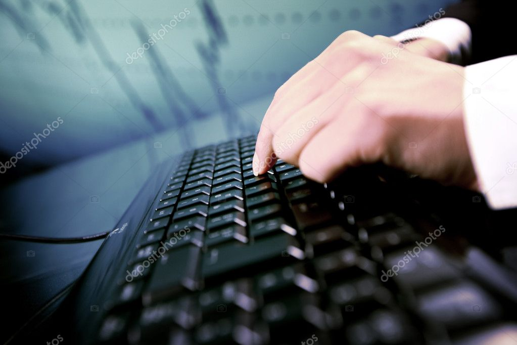 Programmer have data info confirmation — Stock Photo #6650054