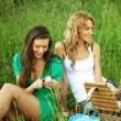 Royalty-Free Stock Photo: Girlfriends on picnic