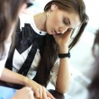Girl on examinination — Stock Photo #6669799