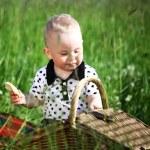 Boy on picnic — Stock Photo #6693945