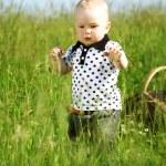 Boy in grass — Stock Photo #6693952