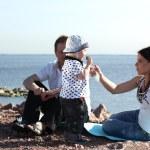 piquenique em família — Foto Stock