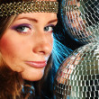 Royalty-Free Stock Photo: Disco girl