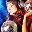 Disco girl — Stock Photo #6727893