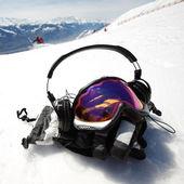 Snowboard mask — Stock Photo