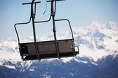 Esquí de ascensor — Foto de Stock