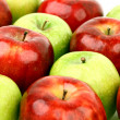 Royalty-Free Stock Photo: Red and green apples