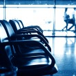 Airport seats — Stockfoto
