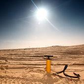 Desert air pump — Stock Photo