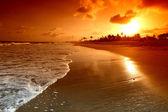 Ocean sunrice — Stock Photo