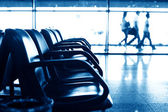 Havaalanı koltuk — Stok fotoğraf