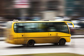 Speed bus — Stock Photo