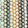 Royalty-Free Stock Photo: A lot of pearl beads close up