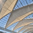 Stock Photo: Vaulted ceiling of high-tech at Munich Airport