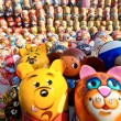 A lot of Russian national souvenirs - matryoshkas.jpg — Stock Photo