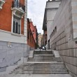 Stock Photo: Stairway on Calle del Rio in Madrid, Spain