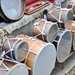 The handmade traditional national Armenian drums — Stock Photo