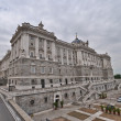 The Royal Palace. Palacio de Oriente, Madrid landmark — Stock Photo