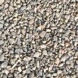 Road stone gravel texture to background — Stock Photo