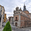 Stock Photo: Typical streets in Madrid, Spain