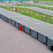 Stock Photo: Start grid on open racetrack