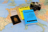 Vacation Travel trough Europe. — Stock Photo