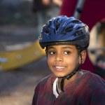 Smiling Ethiopian boy — Stock Photo