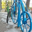 Bike rack — Foto de Stock
