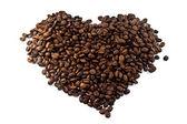 Cuore di caffè — Foto Stock