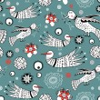 Royalty-Free Stock Vector Image: Graphic pattern of ornamental birds
