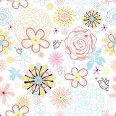 Flower texture — Stock Vector