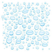 Background with water drops — Stock Vector