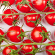 Stock Photo: Cherry tomatoes background