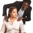 Royalty-Free Stock Photo: Sexual harassment