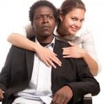 Sexual harassment seduce — Stock Photo