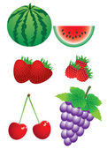 Set of berries — Stock Vector